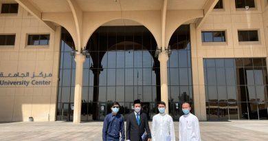 Kunjungan Atdikbud KBRI Riyadh ke King Saud University